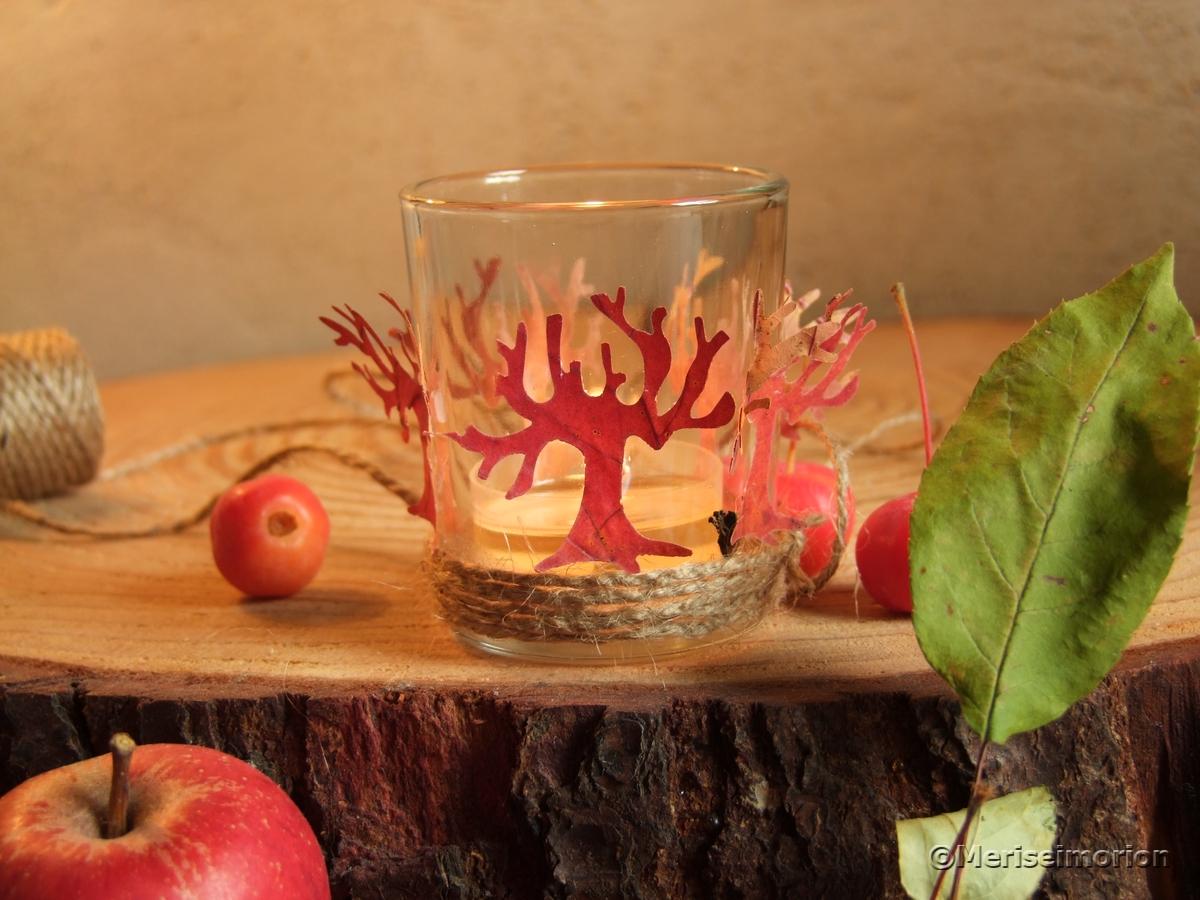 Herbstlaub basteln