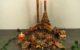 Eine Herbstdeko in Braun